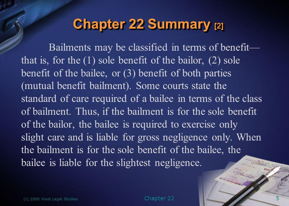 Chapter 22 Summary [2]